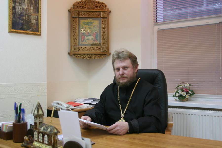Секретарю Калининградской митрополии исполнилось 55 лет. Поздравляем! (фотолетопись)