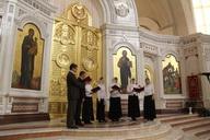 Фестиваль хоров в кафедральном соборе христа спасителя г.кал.